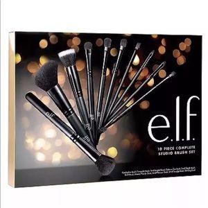 ELF Holiday Complete Studio Brush Gift Set - 10pc